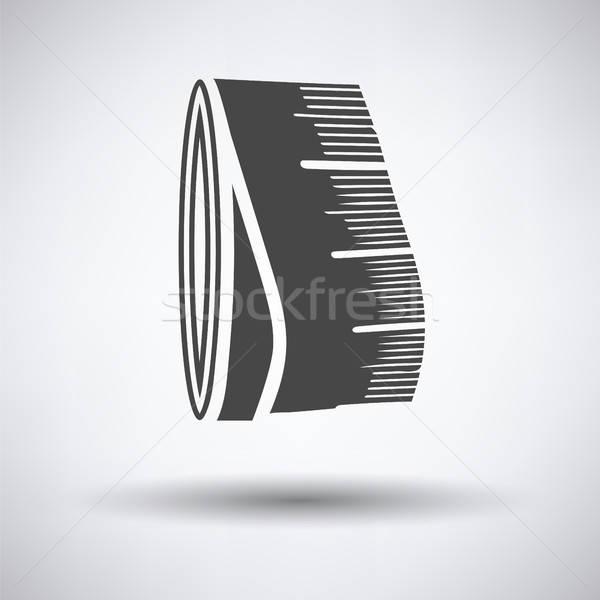 Tailor measure tape icon Stock photo © angelp