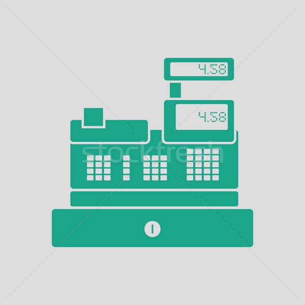 Stock photo: Cashier icon