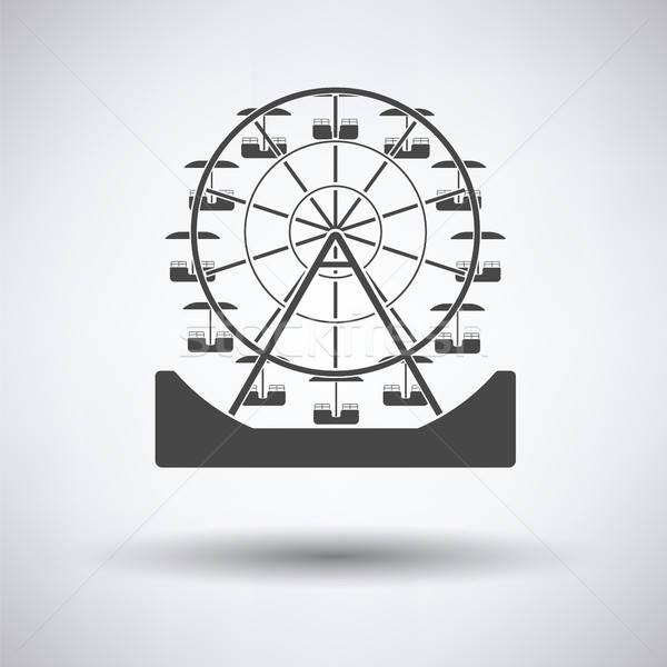 Ferris wheel icon Stock photo © angelp