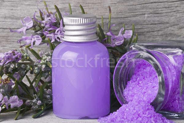 Alecrim banho flores velho Foto stock © angelsimon