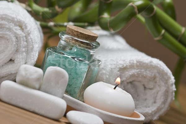 Foto stock: Saudável · estância · termal · natureza · morta · higiene · decorativo · água
