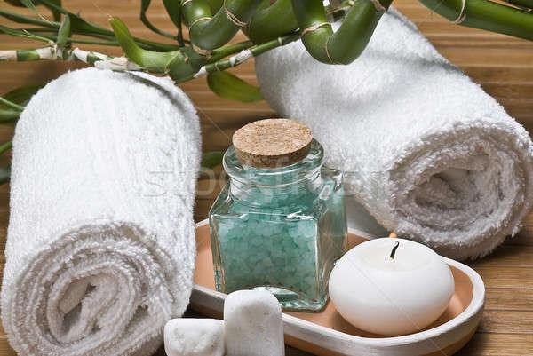 Spa gezondheid stilleven hygiëne decoratief water Stockfoto © angelsimon