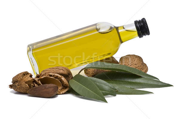 Almond oil and almonds. Stock photo © angelsimon
