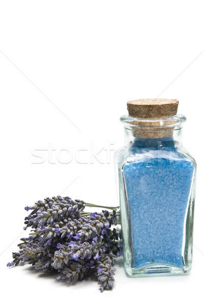 Bath salts with lavender. Stock photo © angelsimon
