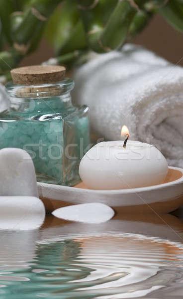 Bad stilleven spa hygiëne decoratief Stockfoto © angelsimon