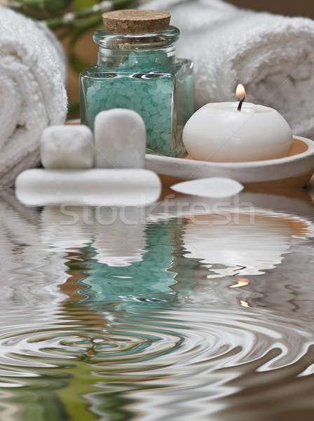 Taze spa natürmort temizlik dekoratif su Stok fotoğraf © angelsimon