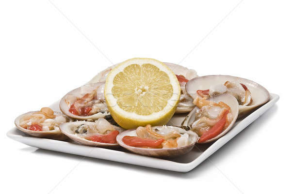 Try with clams and lemon. Stock photo © angelsimon