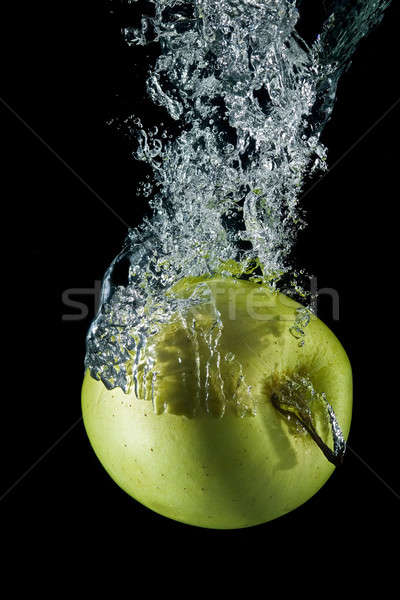 Apple with bubbles. Stock photo © angelsimon
