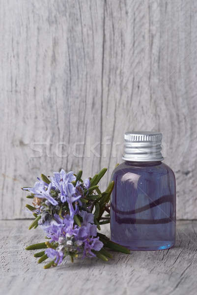 Rosmarijn shampoo bloemen gel oude Stockfoto © angelsimon