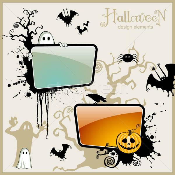 Halloween design tous besoin araignée Photo stock © Anja_Kaiser
