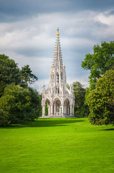 Monument of King Leopold I at park in  Brussels, Belgium Stock photo © anmalkov