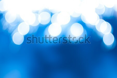 Magical blue abstract background with sparkles and bokeh Stock photo © anmalkov