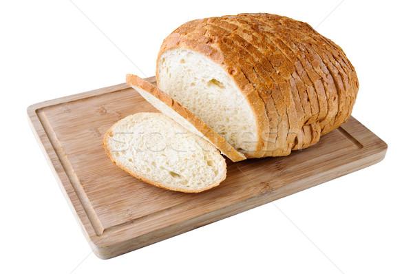 白パン 木板 パン 食べ ボード ストックフォト © anmalkov