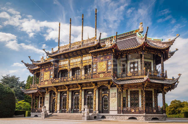 Chinese house building in Brussels, Belgium Stock photo © anmalkov