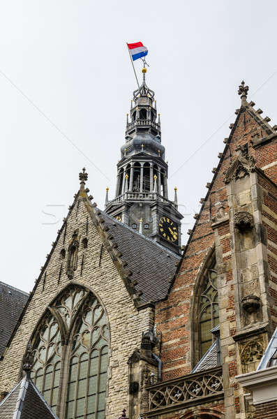 Details of Old church in Amsterdam, The Netherlands Stock photo © anmalkov