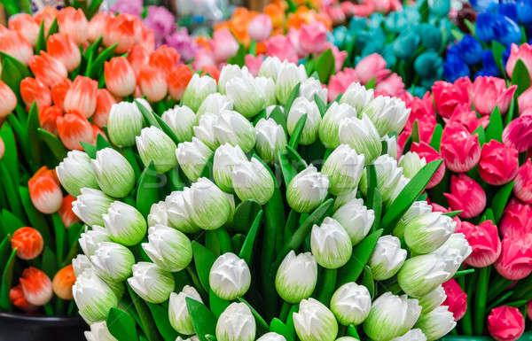 традиционный красочный тюльпаны сувенир магазин Сток-фото © anmalkov