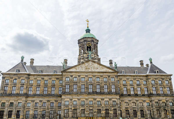 The Royal Palace at the Dam Square in Amsterdam Stock photo © anmalkov