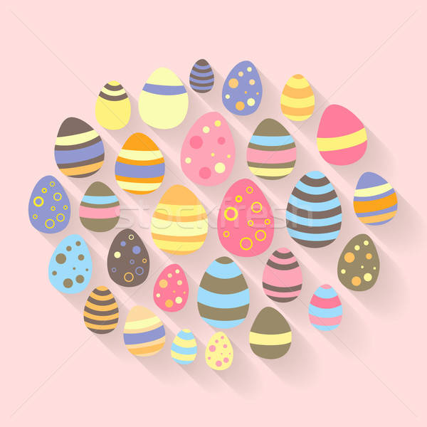 Stok fotoğraf: Paskalya · yumurtası · dizayn · yumurta · web · din