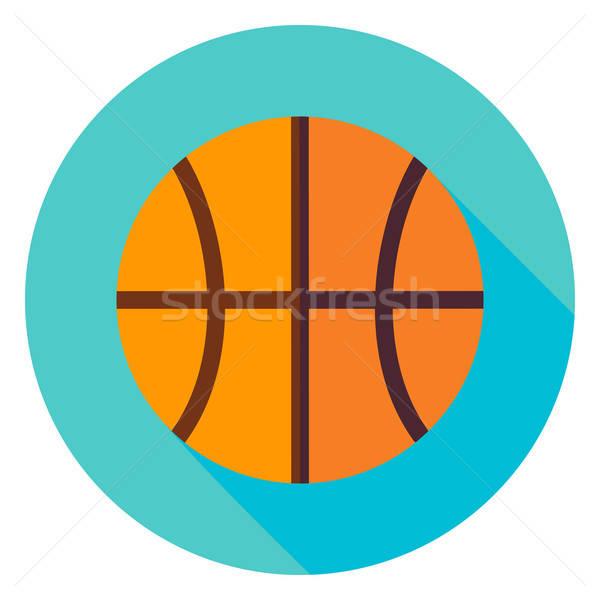 Basketball Circle Icon Stock photo © Anna_leni