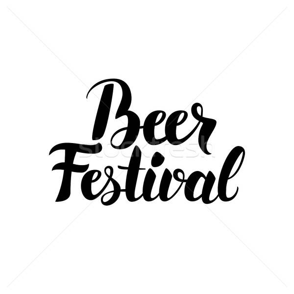Beer Festival Quote Stock photo © Anna_leni
