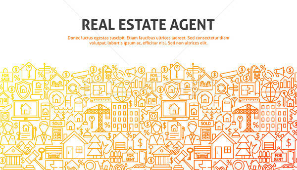 Real Estate Agent Concept Stock photo © Anna_leni