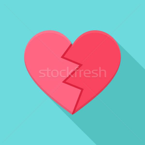 Crushed heart Stock photo © Anna_leni