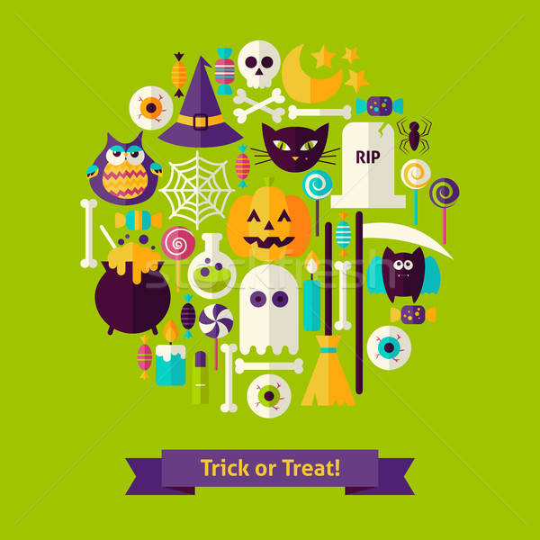 Trick or Treat Halloween Concept Stock photo © Anna_leni