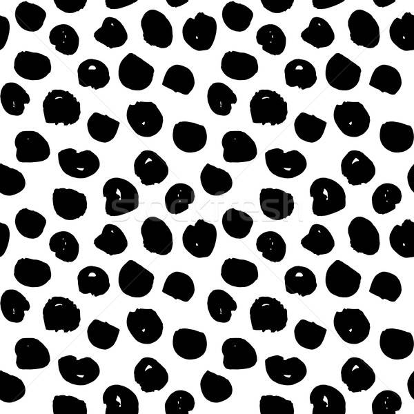 Dots Handdrawn Seamless Pattern Stock photo © Anna_leni