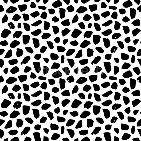 Seamless Pattern Grunge Brush Stroke Stock photo © Anna_leni