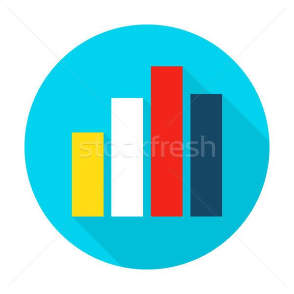 Сток-фото: графа · диаграммы · круга · икона · стиль · пункт