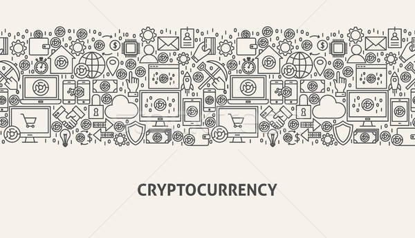 Cryptocurrency Banner Concept Stock photo © Anna_leni