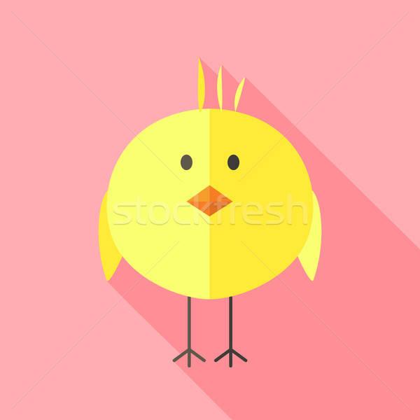 Yellow chicken Stock photo © Anna_leni