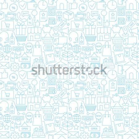 Dun medische lijn gezondheidszorg witte Stockfoto © Anna_leni