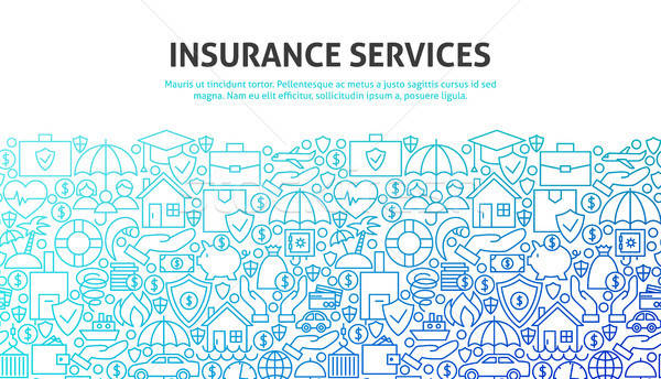 Insurance Services Concept Stock photo © Anna_leni