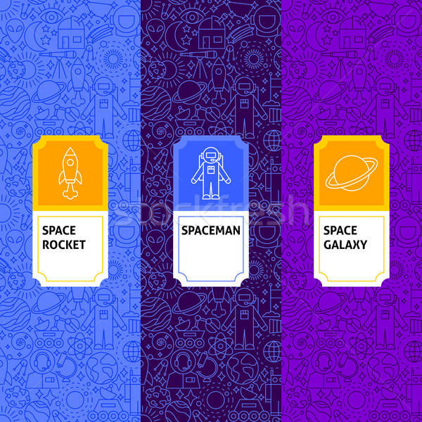 Line Space Package Labels Stock photo © Anna_leni