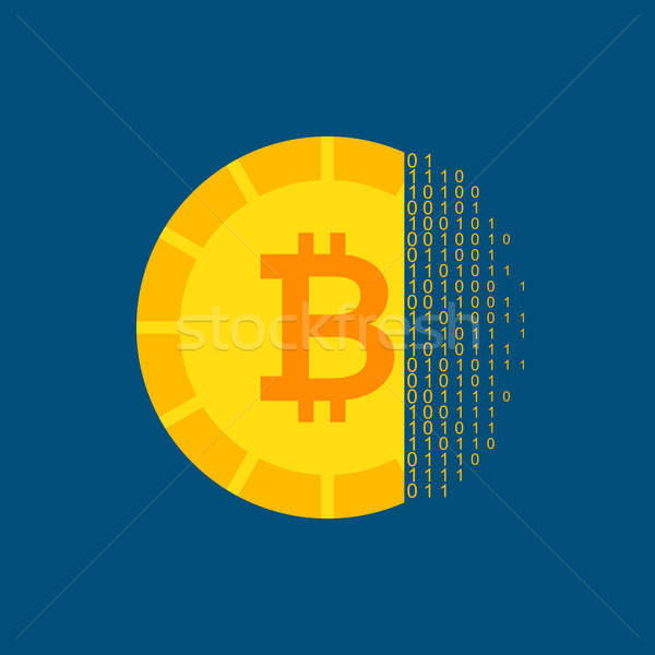 Bitcoin Cryptocurrency Concept Stock photo © Anna_leni