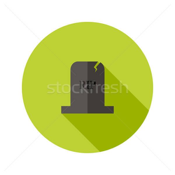 серый надгробная плита икона смерти каменные мира Сток-фото © Anna_leni