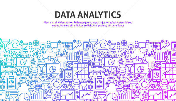Data Analytics Concept Stock photo © Anna_leni