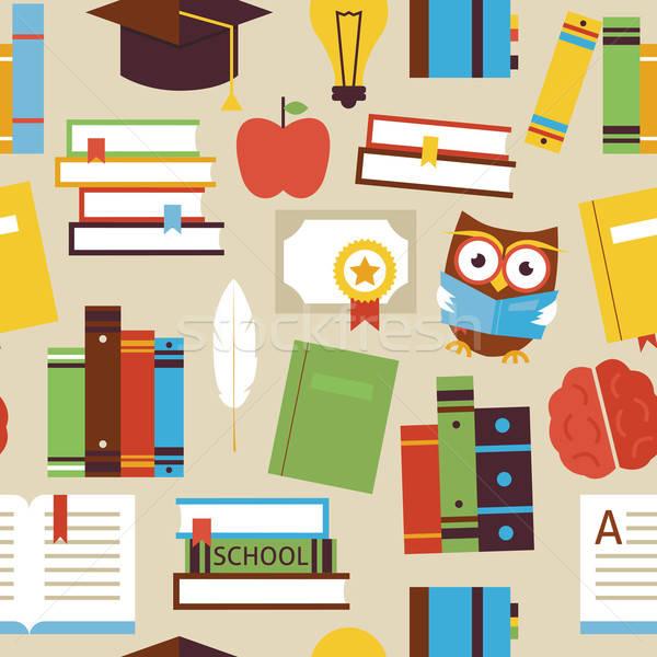 教育 図書 知識 オブジェクト 読む ストックフォト © Anna_leni