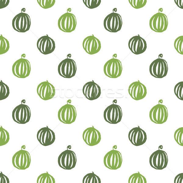 Karpuz Gıda Boya Meyve Vektör Ilüstrasyonu Ganna Sereda