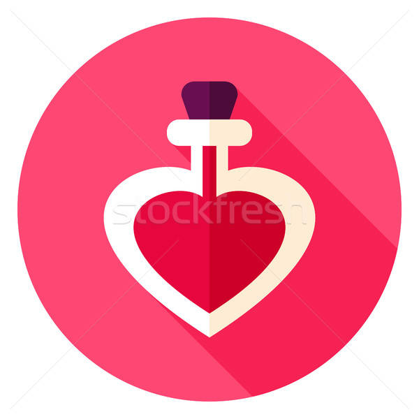Love Potion Circle Icon Stock photo © Anna_leni