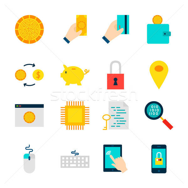 Objects Crypto Currency Stock photo © Anna_leni