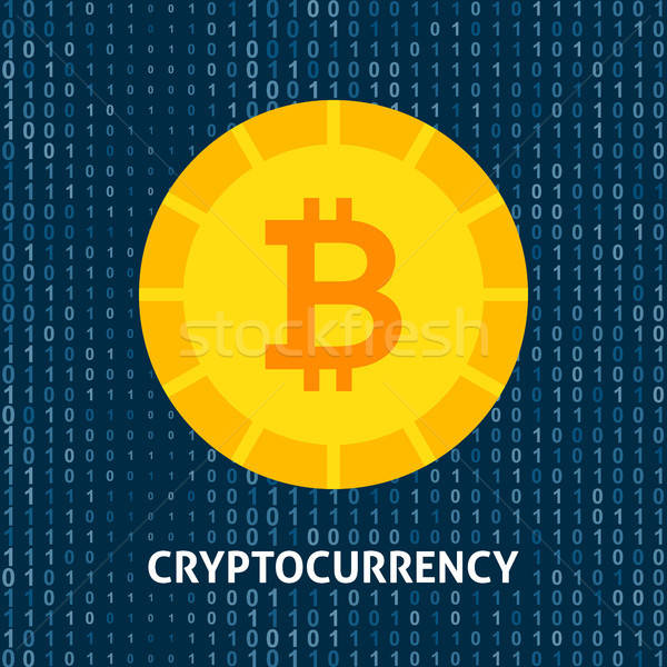 Crypto Currency Bitcoin Concept Stock photo © Anna_leni