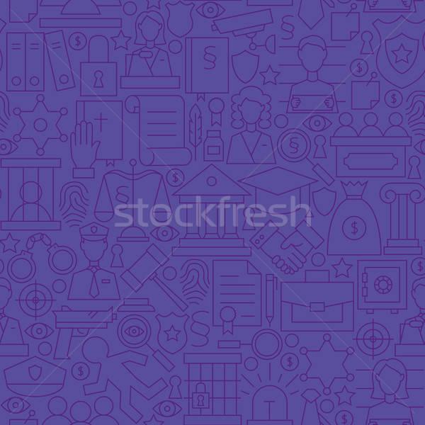 薄い 紫色 弁護士 弁護士 正義 行 ストックフォト © Anna_leni