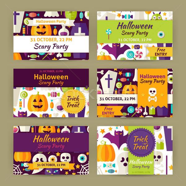 Vetor halloween festa modelo convite moderno ilustrao adicionar lightbox baixar comp stopboris Images