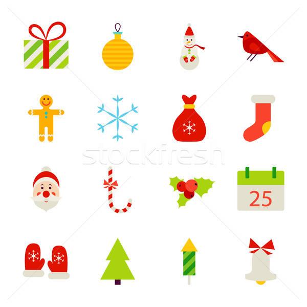 Christmas Holiday Objects Stock photo © Anna_leni