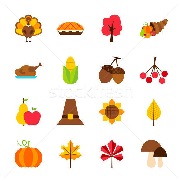 Thanksgiving Day Objects Stock photo © Anna_leni