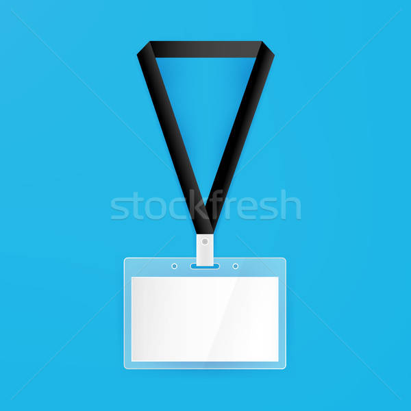 Name Badge Empty Mockup Stock photo © Anna_leni
