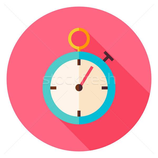 Speedometer Circle Icon Stock photo © Anna_leni