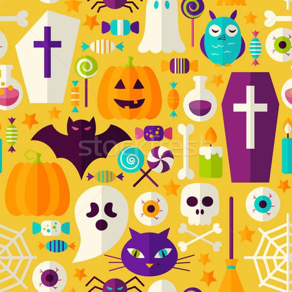 Halloween festa assustador férias estilo Foto stock © Anna_leni